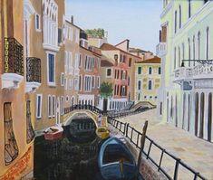 Venice Bridges and Canals Bridges, Venice, Art Prints, Etsy, Vintage, Art Impressions, Venice Italy, Vintage Comics