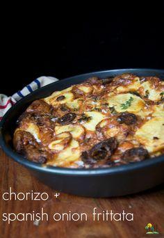 spanish frittata chorizo
