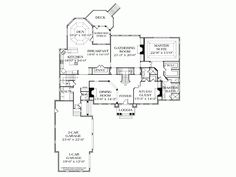 Eplans Georgian House Plan - Magnificent Mansion - 5432 Square Feet and 5 Bedrooms from Eplans - House Plan Code HWEPL12492
