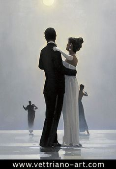 Dance Me to the End of Love--This one started my love of Jack Vettriano's art!