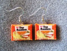 FOOD EARRINGS: found on Etsy by No Repeats or Hesitations.