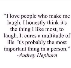 Laughing is good medicine