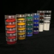 All of our standard pigments (excluding cinnabar) and enough gum arabic to mix them all into paint. You will receive a measured portion (as listed above) of each pigment and 5 tablespoons of gum arabic. Craft Organization, Organizing, Calligraphy Artist, Gum Arabic, Art Storage, Art Supply Stores, Medieval Art, Illuminated Manuscript, Contemporary Artists