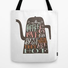 COFFE & LOVE Tote Bag