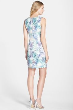 Baroque Jacquared Dress by Kaya & Sloane on @nordstrom_rack