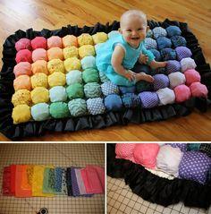 DIY IDEAS: Bubble Quilt multicolor