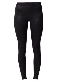 Nike Performance PRO WARM - Collants - black/white - ZALANDO.FR