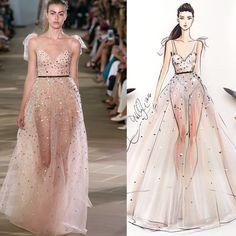 Fashion show vs Sketch