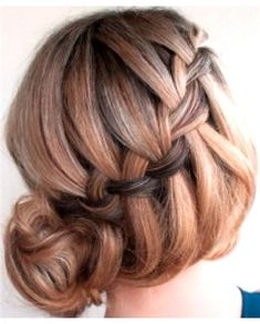 Modern Drop Braid - 20 Beautiful Confirmation Hairstyles - EverAfterGuide