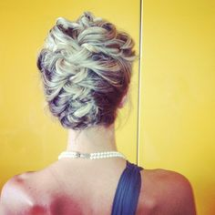 Wedding in AZ/ Bridesmaid: Stephanie/ Hair and Makeup by Natalie DeWan