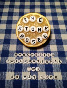 The Stone Roses Poster Original Artwork Print by Jordan Bolton A3