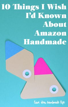 Selling Handmade Items, Handmade Market, Craft Business, Creative Business, Online Job Opportunities, How To Memorize Things, Things To Sell, Craft Markets, Sell On Amazon