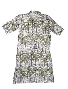 Amazon New, New Golf, Palm Tree Print, Collars, Men Casual, Short Sleeve Dresses, San, Mens Tops, Polo