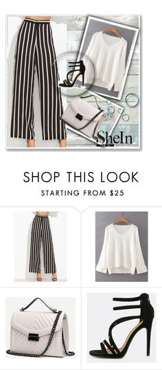 """""""SheIn 7/IV"""" by amina-haskic ❤ liked on Polyvore featuring Wall Pops! and Sheinside"""