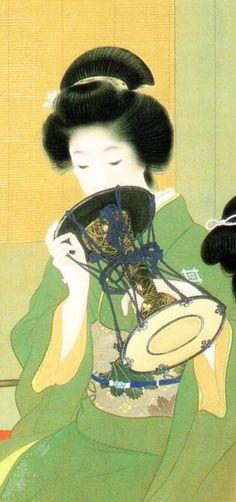 UEMURA Shoen, Japan                                    上村松園 ( 1875 - 1949 )