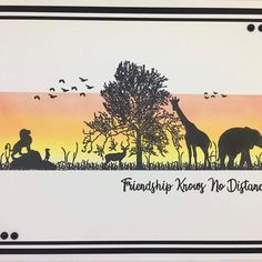 Absolutely love this made with my new On Safari DL Stamp and African Animals, African Safari, Tattered Lace Cards, Sue Wilson, Distress Oxides, Card Making Techniques, Animal Cards, Ink Pads, Watercolor Cards