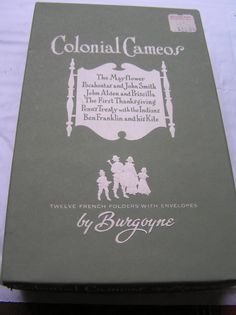 Burgoyne Colonial Cameos  Twelve French by SevenSistersBooks