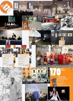"""170°Stagi - le celebrazioni sono proseguite dal gennaio al dicembre 2013. Liceo artistico statale """"Stagio Stagi"""" di Pietrasanta (Lu)."""