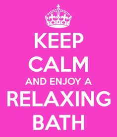 relaxing in the bath - Google Search