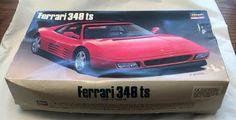 Vintage Hasegawa Ferrari 348ts Model Kit Scale 1:24 Japan #Hasegawa