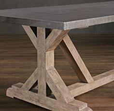 Rustic X Base Console Table Sofa TablesDiy Dining