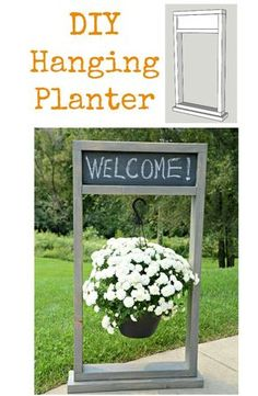 How to Build a Fall Hanging Planter The Home Depot DIY Workshop — Decor and the Dog projects tips woodworking