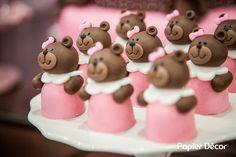 doces modelados ursa