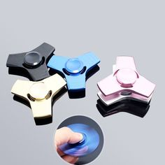 2017 New Spinner Stainless Steel Fidget Toy – City Shop