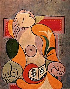 I'm taking my Picasso rants back. Seems like his fave musetress Marie-Thérèse Walter is still very significant. Another Picasso portrait of the gal is up Art Picasso, Picasso Portraits, Picasso Paintings, Pablo Picasso Cubism, Cubist Portraits, Cubism Art, Georges Braque, Giacometti, Cubist Movement