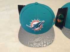 Miami Dolphins 2014 New Era Draft 59Fifty Fitted Cap New With Tags Hat #NewEra #MiamiDolphins