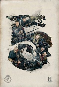 History Vikings season 5 special edition poster #Vikings