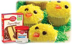 Chick Cupcakes Recipe | Family Dollar