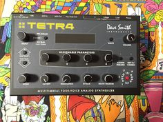 MATRIXSYNTH: Dave Smith Instruments TETRA (4 voice analog synth...