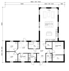 Country Modern Home, Modern Barn House, Bungalow, House Plans, Sweet Home, New Homes, Villa, Floor Plans, Exterior