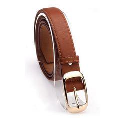 Leopardo Cintura Di Pelle - 4 Variants Leather Belt Woman