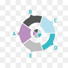 Vector round frame material ppt, Vector Border, Circular Border, Ppt Border PNG and Vector