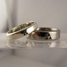 Anéis e alianças nerds fabricados com metais e pedras preciosas - Garotas Nerds