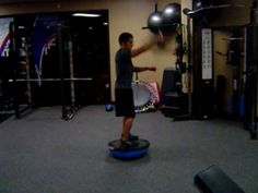 Advanced BOSU Exercise Circuit Routine
