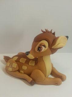 Figurice za torte (Fondant design Ana): BAMBI (Disney) - Figura od fondana (Fondant Figure)