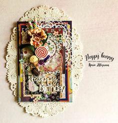 Sweet birthday card by Maria Lillepruun