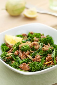 Blood Sugar Solution 10 Day Detox Diet recipe for Broccoli Rabe with Hot Italian Sausage is delicious served hot or cold.