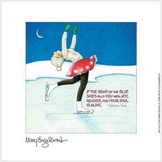 """""""Skater on Ice"""" Fine Print"""