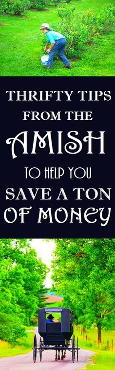 Amish Thrifty Tips #amish #thrifty #money #frugal #frugalliving Living On A Budget, Frugal Living Tips, Frugal Tips, Money Tips, Money Saving Tips, Ways To Save Money, How To Make Money, Simple Life Hacks, Budgeting Finances