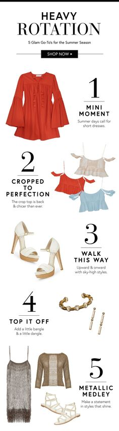 Here are the top 5 trends to know to keep in heavy rotation this summer