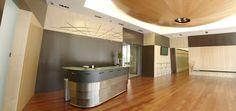 Recepción del centro de negocios CINC Barcelona