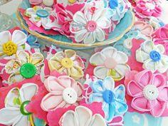 Kanzashi, these are pretty!