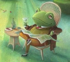 Richard Johnson Illustration | Artist & Illustrator Wind In the Willows