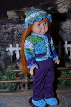 American Girl Style 4 piece warm and cozy by TresChicDollClothes, $16.00