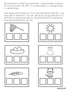 Afrikaans Kom Ons Begin Klank! Shape Worksheets For Preschool, Shapes Worksheets, Preschool Activities, Afrikaans Language, Block Lettering, Working With Children, Short Nails, Rv, Kids Work
