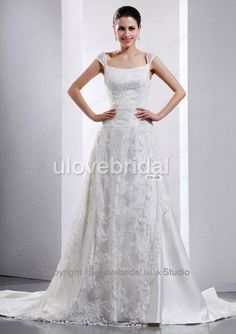 Slimming slimly Tempting Cap Sleeves Court Train Hot Bridal Dress
